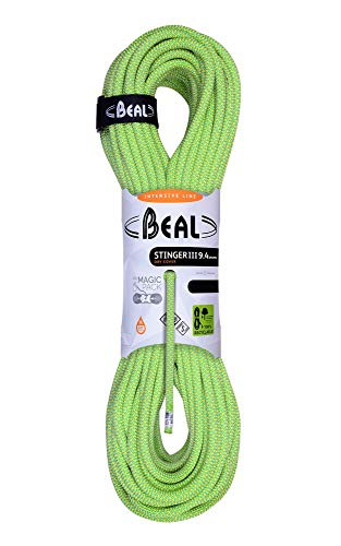 Beal C094.70 - Cuerda de Escalada, Color Blanco (Anis), Talla 9,4 mm x 70 m